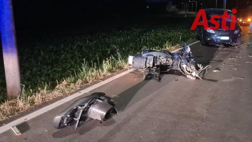 Grave un motociclista dopo frontale a Valleandona