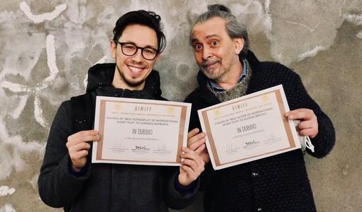 Alessio Bertoli con Lorenzo Bombara