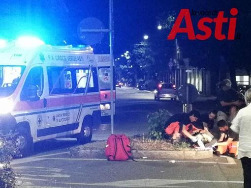 Incidente tra auto e moto in piazza Torino: nessuna grave conseguenza