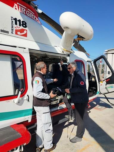 L'assessore Icardi in partenza dal Piemonte verso Alassio