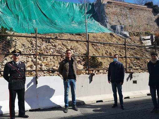 """Moncalvo, un anno fa crollava il muro di corso XXV Aprile. Il sindaco Orecchia: """"Uno dei più tragici avvenimenti degli ultimi decenni"""""""