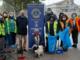 Il Lions Club Alfieri di Asti, contribuisce alla pulizia di piazza Campo del Palio