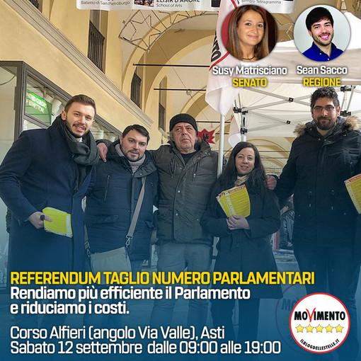 Il Gruppo Consigliare M5S prende le distanze dall'On. Romano e ribadisce il Sì al referendum