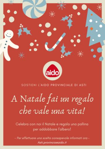 Le palline dell'AIDO arricchiranno le festività natalizie