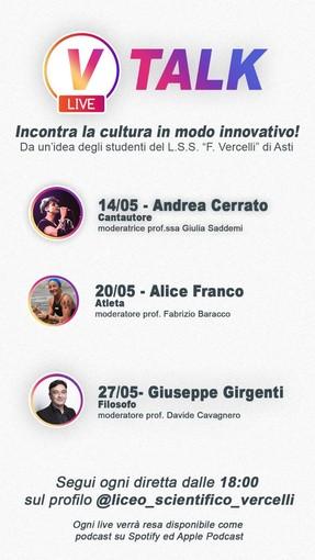 Attualità, musica, sport e filosofia nel salotto virtuale del Liceo Vercelli, aperto a tutte le scuole astigiane