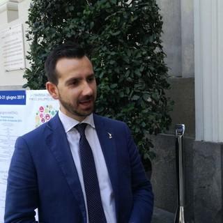 L'assessore regionale all'Ambiente, Matteo Marnati