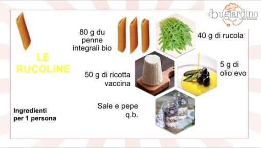 Felici e Veloci, le nuove (video)ricette di Fata Zucchina: le Rucoline