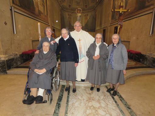 Le Figlie di Maria Ausiliatrice di Nizza Monferrato hanno festeggiano i giubilei di professione religiosa