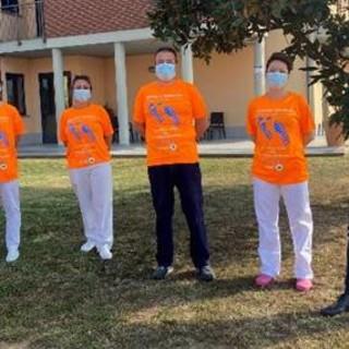 Per la Giornata dell'Alzheimer, anche la Casa di Riposo Orpea di Asti, sceglie di aderire alla maratona per solidarietà