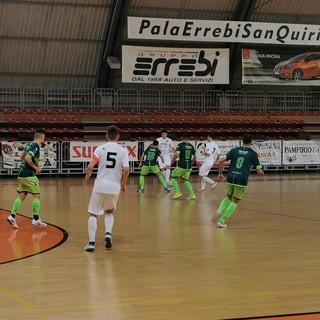Futsal: quarta vittoria consecutiva per gli Orange, ma con difficoltà