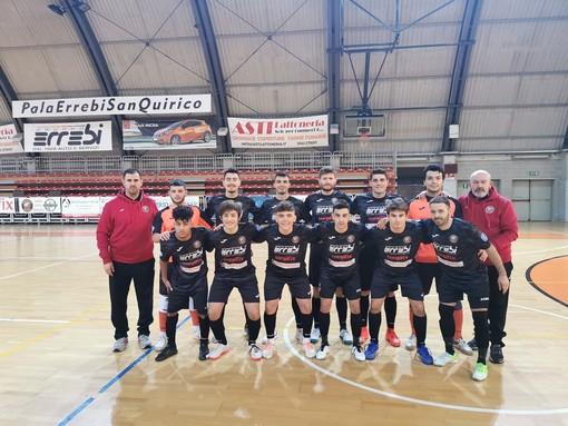 foto della squadra di calcio orange futsal