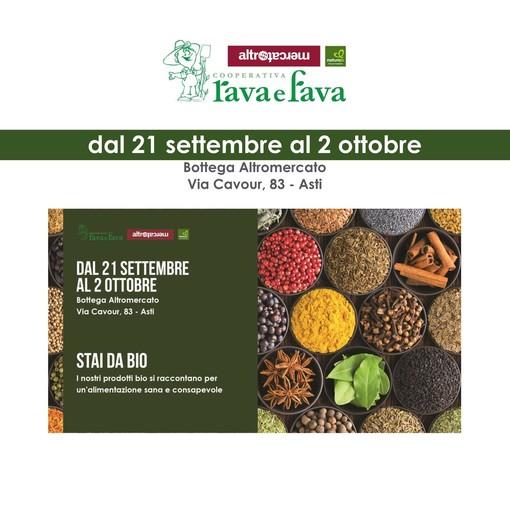 Quindici giorni dedicati al biologico alla Rava e Fava di Asti con 'Stai da bio'
