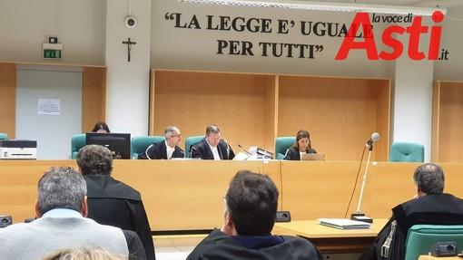 Presente in aula per il processo Barbarossa, questa mattina, il giudice Amerio che andrà a Torino