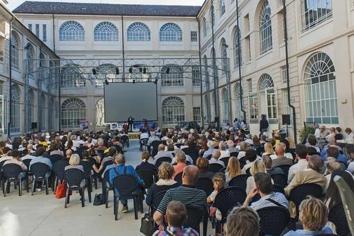 Il pubblico di PPT durante l'incontro con Mattia Feltri (ph Rabino)