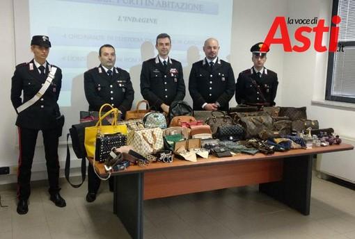 Al centro della foto, da sinistra a destra, il maresciallo La Fata, il tenente colonnello Breda e il capitano Caprio