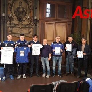 La presentazione, a novembre 2019, della scuola calcio disabili