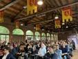 La folta platea di professionisti al Foro Boario di Nizza Monferrato