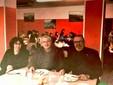 La vice sindaca Tanya Arconi, il consigliere di minoranza Pierluigi Stella e il sindaco Cavallero durante il sopralluogo in mensa