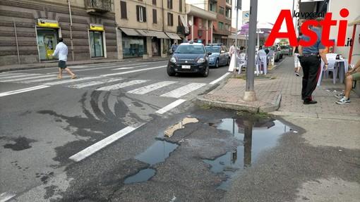 Intervento di Carabinieri e Polizia Stradale su una rissa in corso Casale
