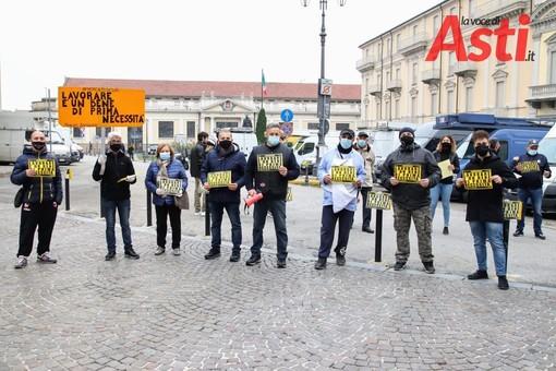 La protesta del 14 novembre scorso (MerfePhoto)