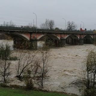 Il fiume Tanaro ad Asti