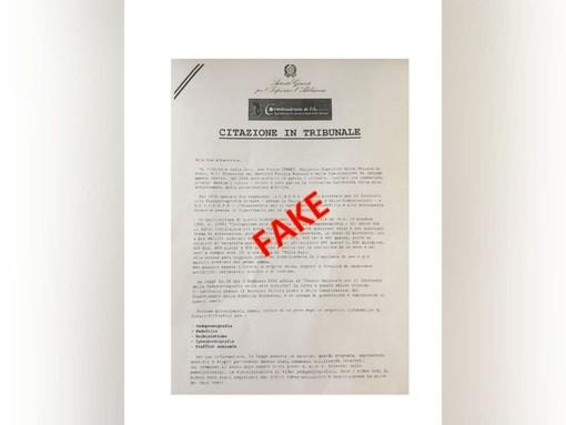 Il falso atto di citazione della Polizia Postale