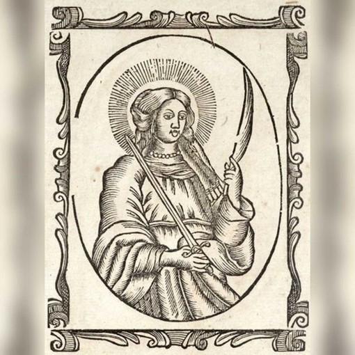 Santa Fede, stampa popolare catalana del XVIII secolo