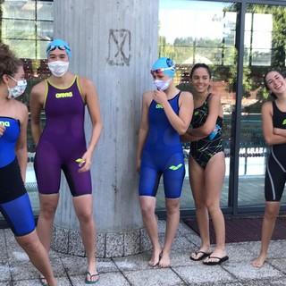 Prove di gara anche virtuali per gli atleti dell'Asti Nuoto, ma dal 30 maggio sono tornati in acqua
