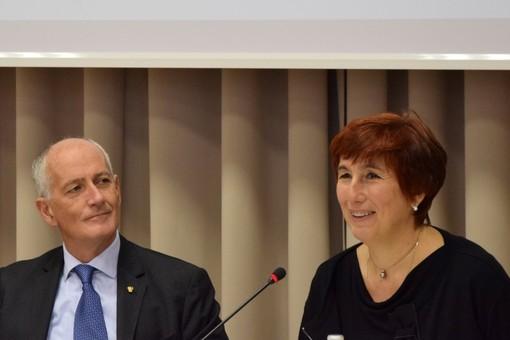 Alessandra Faranda Cordella con il Capo della Polizia Gabrielli