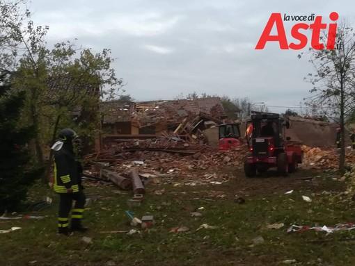 Fermato Giovanni Vincenti, il proprietario della cascina di Quargnento (AL), dove hanno perso la vita tre vigili del fuoco