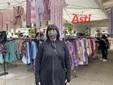 Raffaella Gigliodoro, questa mattina al mercato