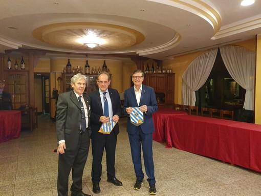 Giovanni Costa con MArio Narciso e Mario Sacco