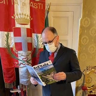 Il sindaco Rasero con 'Bell'Italia'