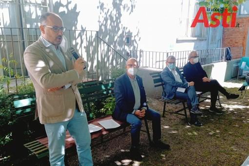 Il sindaco alla presentazione della rassegna estiva a Palazzo Mazzola