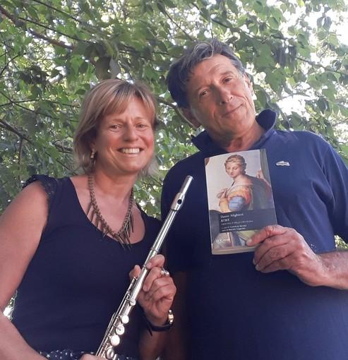 Simona Scarrone e Aldo Delaude, protagonisti del recital dedicato a Dante