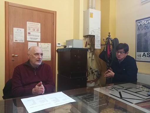 Sergio Zappa e Maurizio Quadri