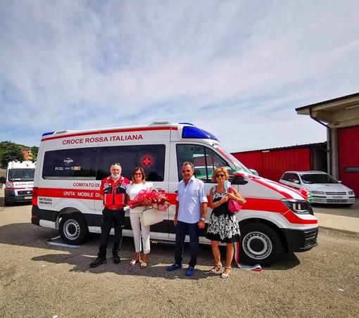 La donazione dell'ambulanza