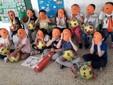 La sezione C della scuola dell'infanzia De Benedetti
