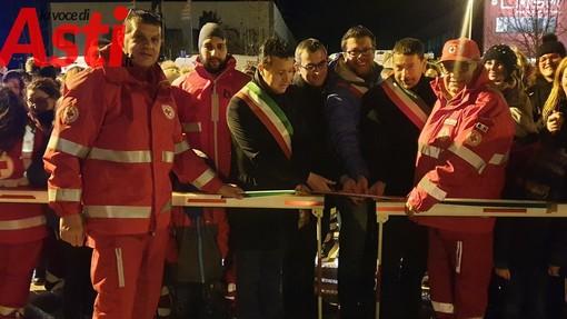 Inaugurato a San Damiano il campo di atterraggio notturno dell'elisoccorso