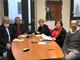 Da sinistra: Piero Valpreda, Piero Coltella, Carmen Soffranio, Mariangela Cotto e il Dirigente delle Politiche Sociali Roberto Giolito