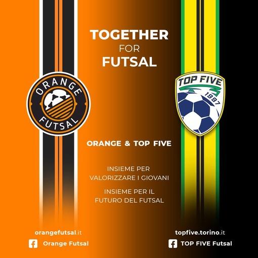 Orange Futsal Asti ancora una volta con la Top Five Futsal