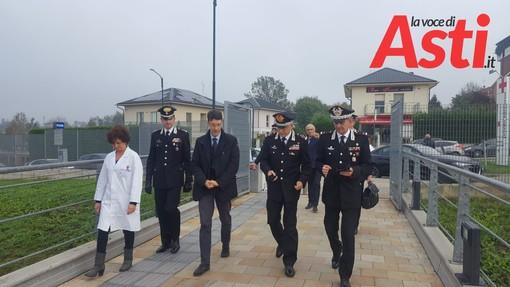 La visita ai feriti di Quargnento ad Asti del  Comandante generale dell'Arma dei carabinieri Giovanni Nistri
