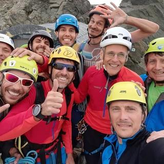 Gli istruttori del CAI Asti aprono una nuova via alpinistica sulla Punta Venezia (FOTO)