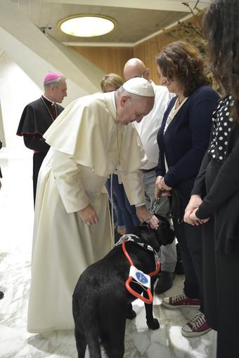 L'udienza con il Papa di Renata e York