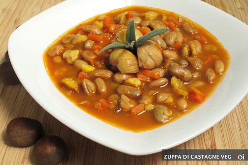 MercoledìVeg di Ortofruit: oggi prepariamo la deliziosa zuppa di castagne